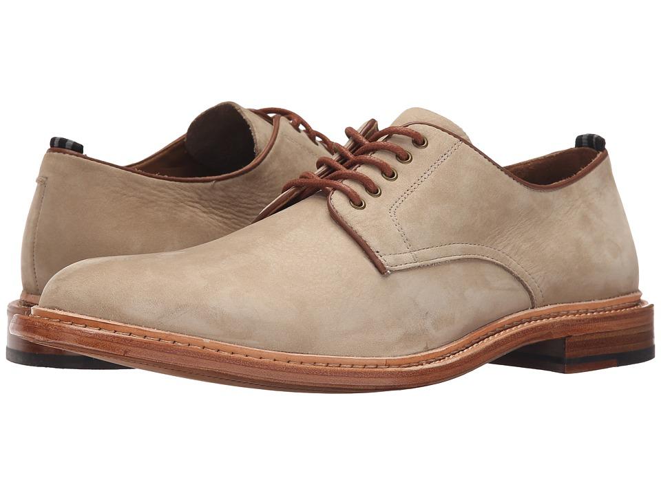 Cole Haan - Willet Plain Oxford (Flint Nubuck) Men's Plain Toe Shoes