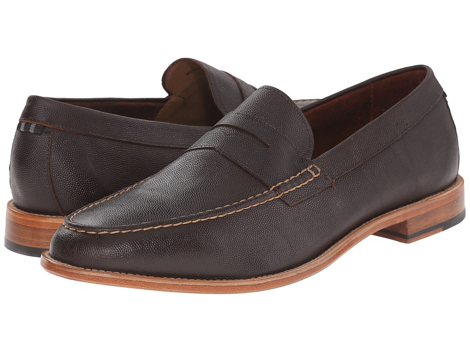 Cole Haan Willet Penny Loafer (Deep Brown) Men