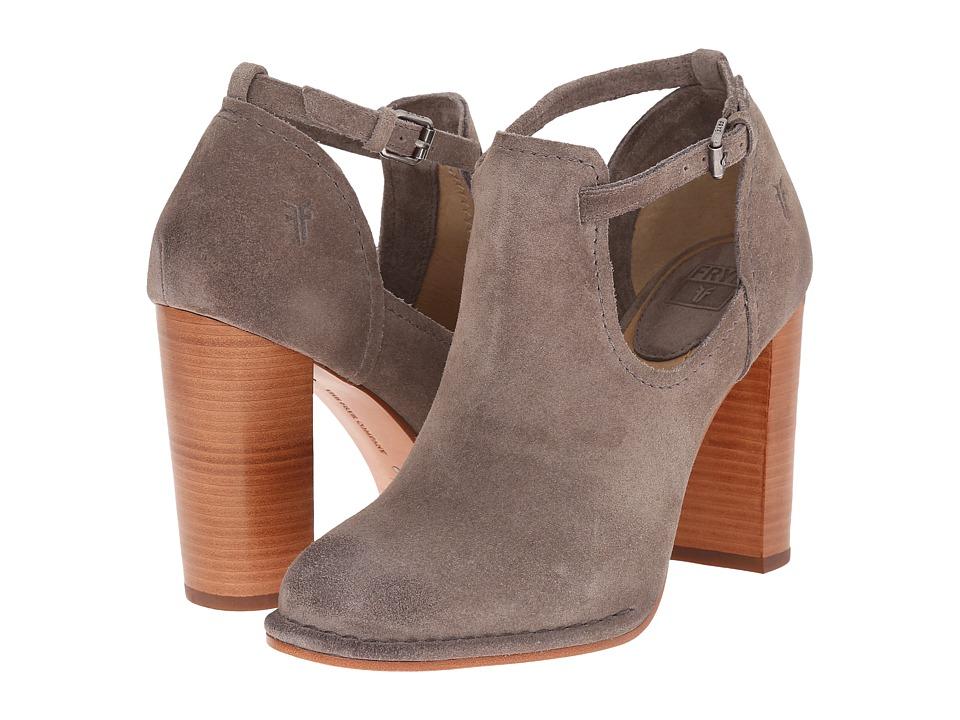 Frye - Margaret Shootie (Dark Grey Oiled Suede) Women's Boots