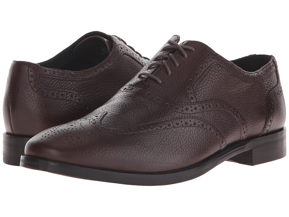 Cole Haan - Cambridge Wing Oxford (Chestnut Grain) Men's Lace Up Wing Tip Shoes