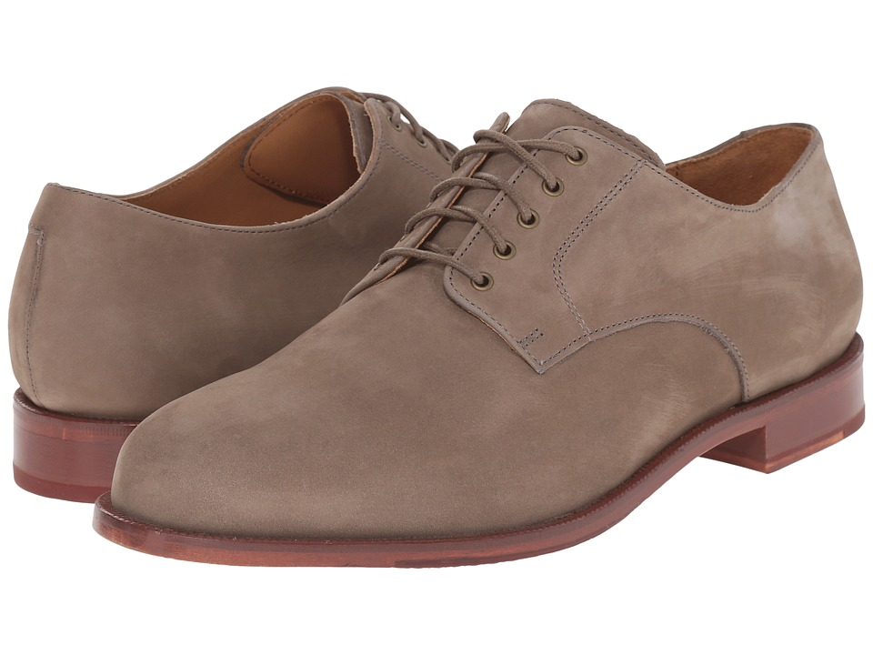 Cole Haan - Carter Grand Plain (Walnut Nubuck) Men's Plain Toe Shoes