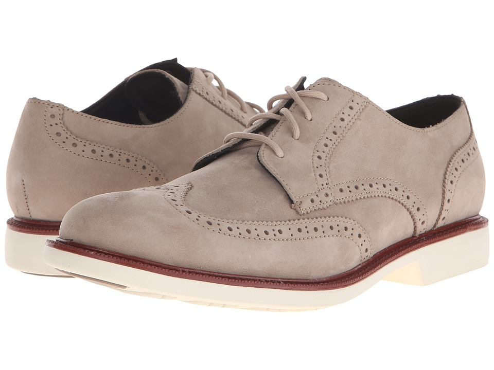 Cole Haan - Great Jones Wingtip (Dune Nubuck) Men's Lace up casual Shoes