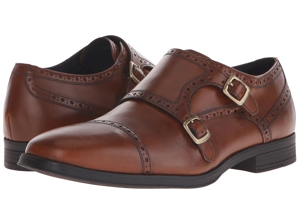 Cole Haan - Montgomery Double Monk (Woodbury) Men's Monkstrap Shoes