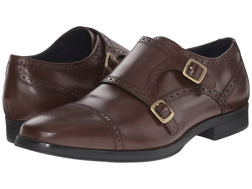 Cole Haan - Montgomery Double Monk (Chestnut) Men