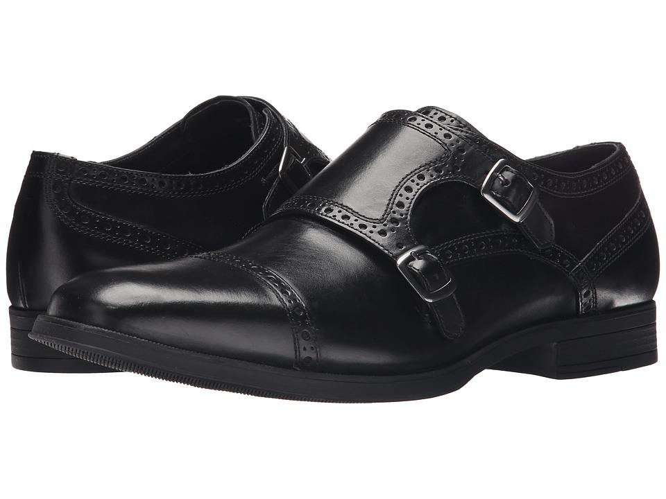 Cole Haan - Montgomery Double Monk (Black) Men's Monkstrap Shoes