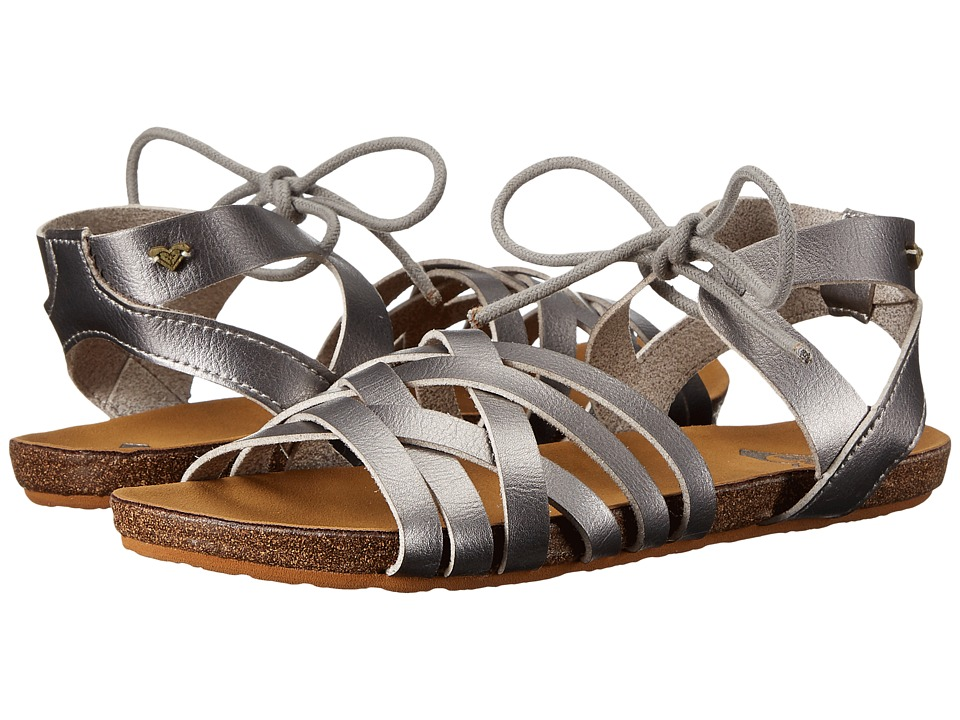 Roxy - Zanna (Silver) Women's Sandals