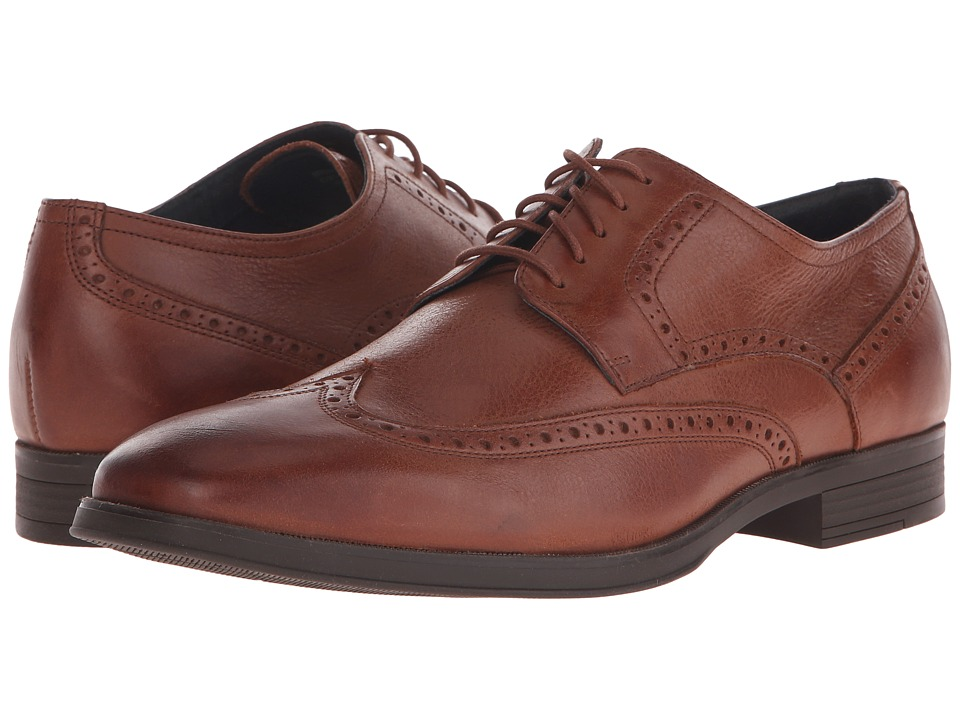 Cole Haan - Montgomery Cap Ox (Woodbury Casual Leather) Men's Lace Up Cap Toe Shoes
