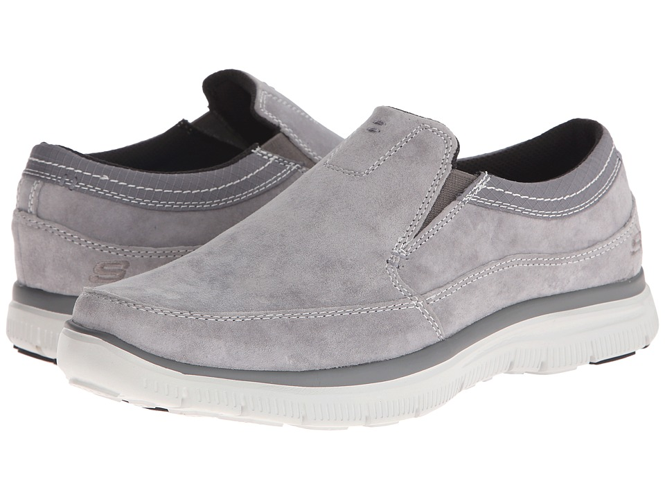 SKECHERS - Relaxed Fit Hinton (Charcoal) Men