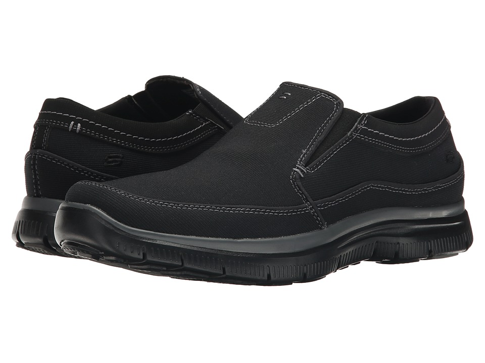 SKECHERS - Relaxed Fit Hinton (Black 2) Men