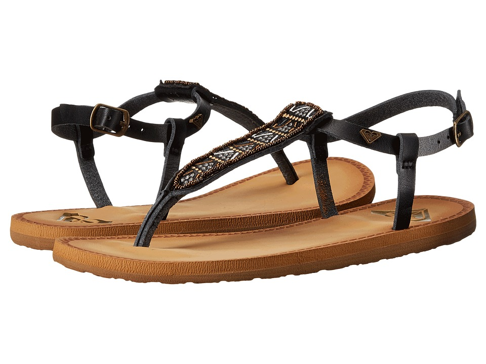 Roxy - Mita (Black) Women's Sandals