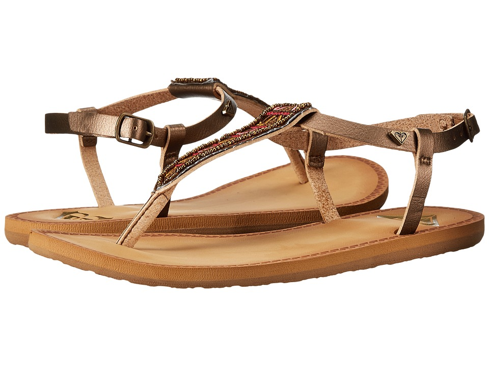 Roxy - Mita (Gold) Women's Sandals