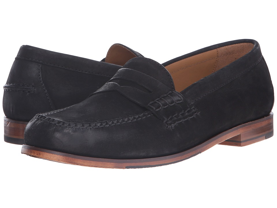Cole Haan Pinch Grand Penny (Black Nubuck) Men