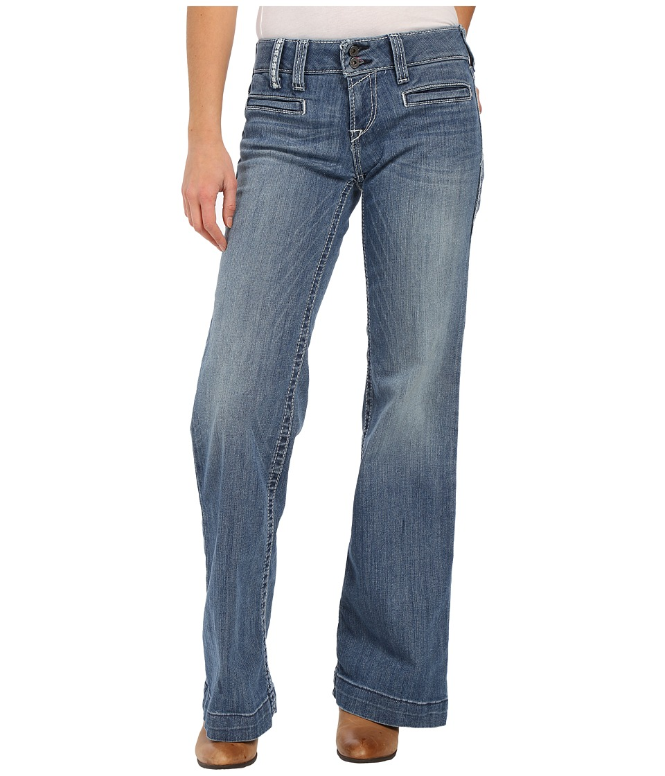 Ariat - Trouser White Diamond Jeans in Azure (Azure) Women's Jeans