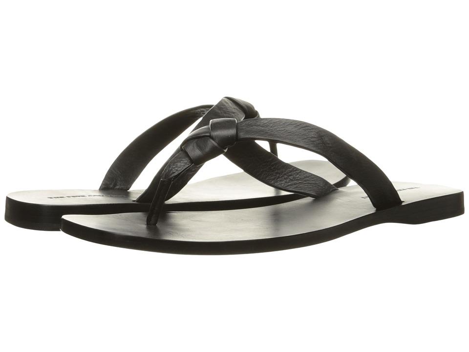 Frye - Perry Knot Thong (Black Soft Full Grain) Women's Sandals