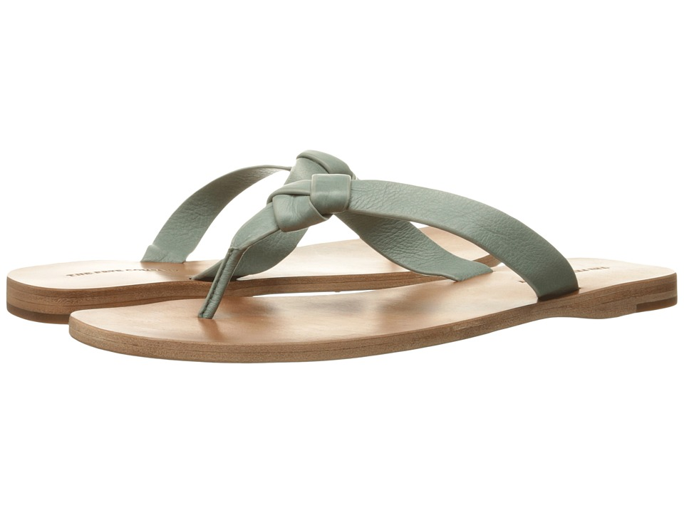 Frye Perry Knot Thong (Sage Soft Vintage Leather) Women