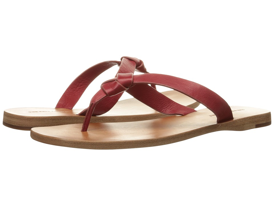 Frye - Perry Knot Thong (Red Soft Vintage Leather) Women's Sandals