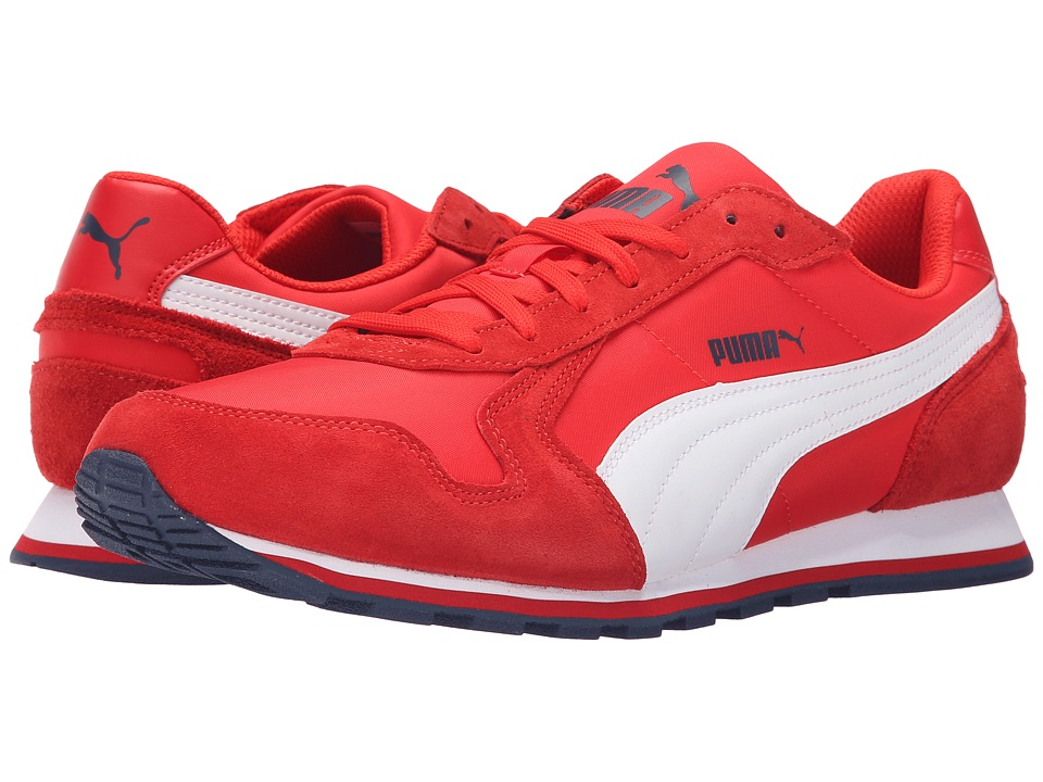 PUMA - ST Runner NL (High Risk Red/White) Men's Running Shoes