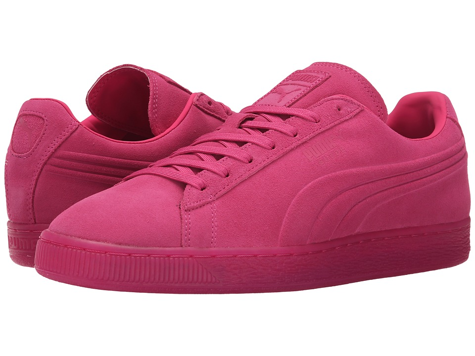 PUMA - The Suede Emboss Iced (Beetroot Purple) Men's Shoes