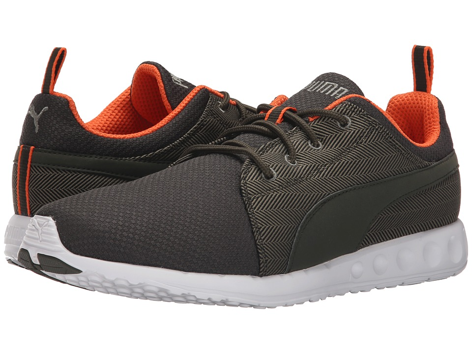 PUMA - Carson Runner Herring (Burnt Olive/Forest) Men's Shoes