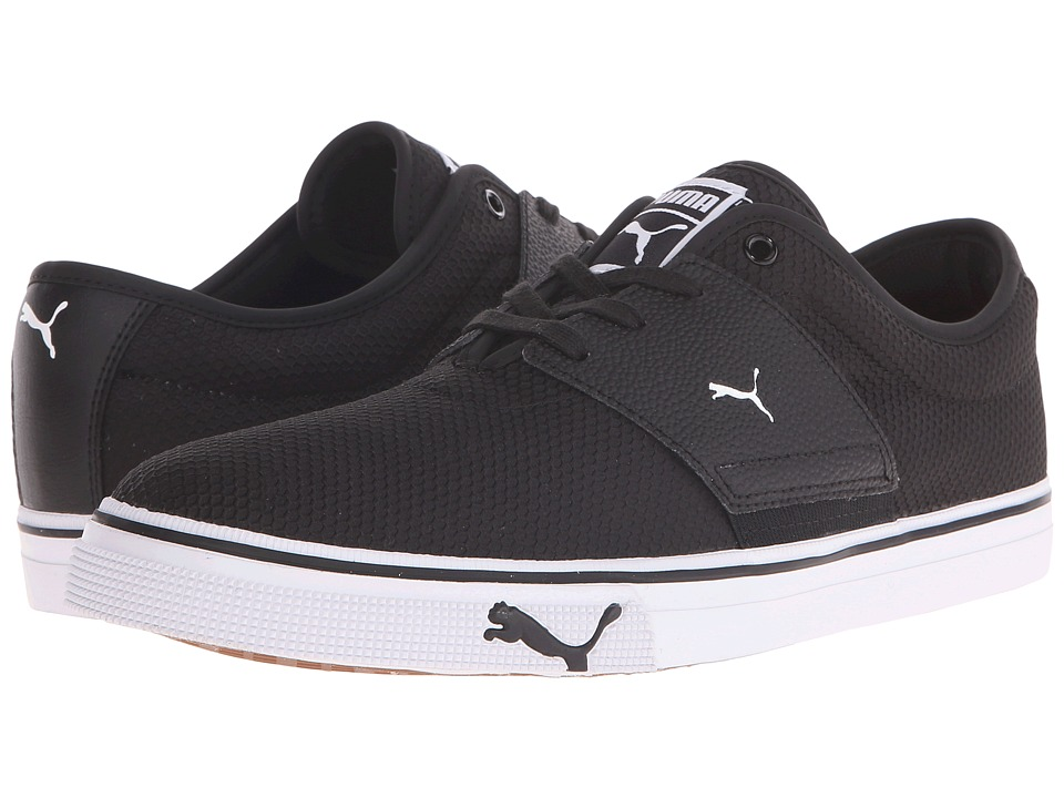 PUMA El Ace Textured (Black/White) Men