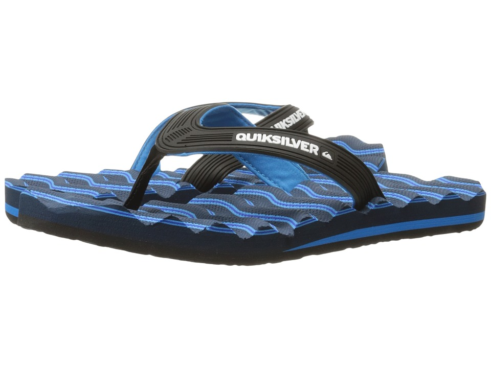 Quiksilver - Massage (Black/Blue/Blue) Men's Sandals