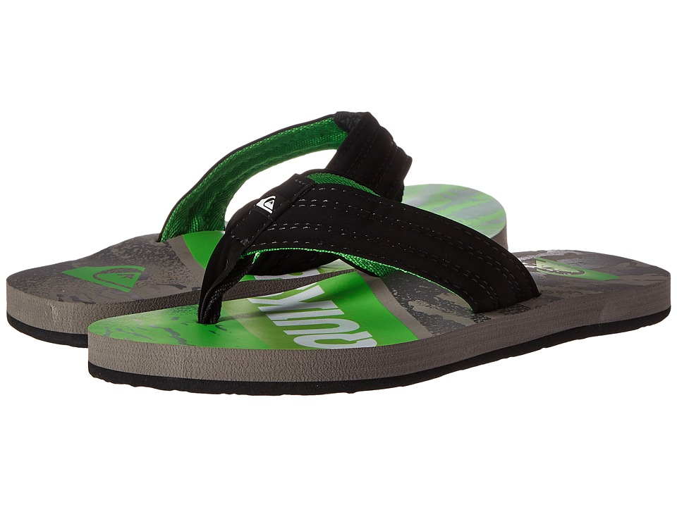 Quiksilver - Basis (Grey/Green/Grey) Men's Sandals