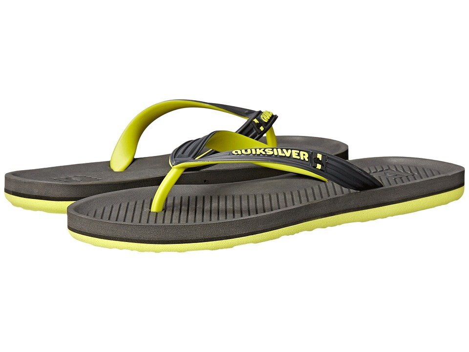 Quiksilver - Haleiwa (Grey/Green/Grey) Men's Sandals