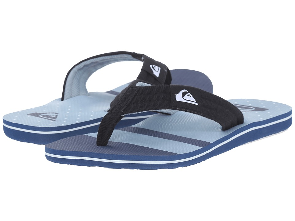 Quiksilver - Molokai Layback (Blue/Blue/White) Men's Sandals