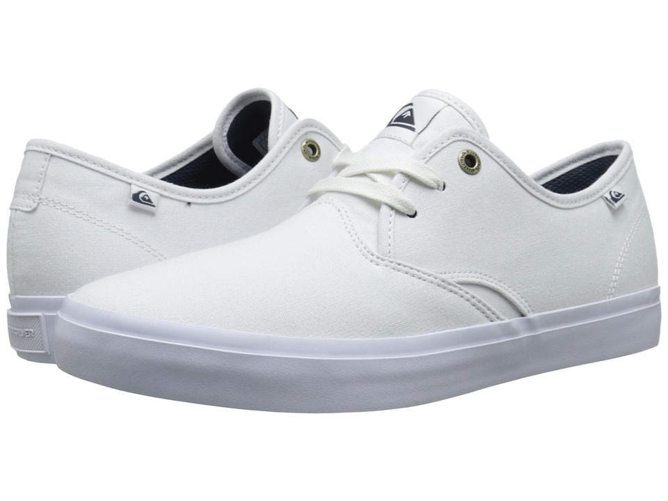 Quiksilver - Shorebreak (White/White/White 2) Men's Shoes