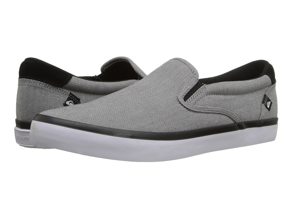 Quiksilver - Shorebreak Slip-On (Grey/Black/White) Men's Slip on Shoes