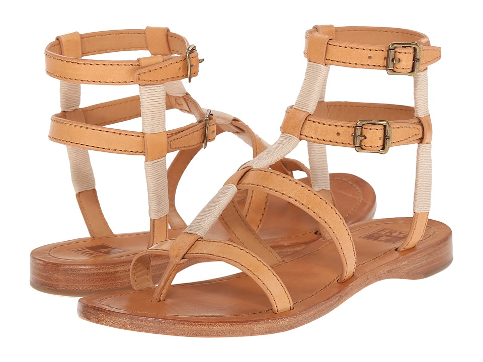 Frye - Rachel Gladiator (Natural Smooth Full Grain) Women's Sandals