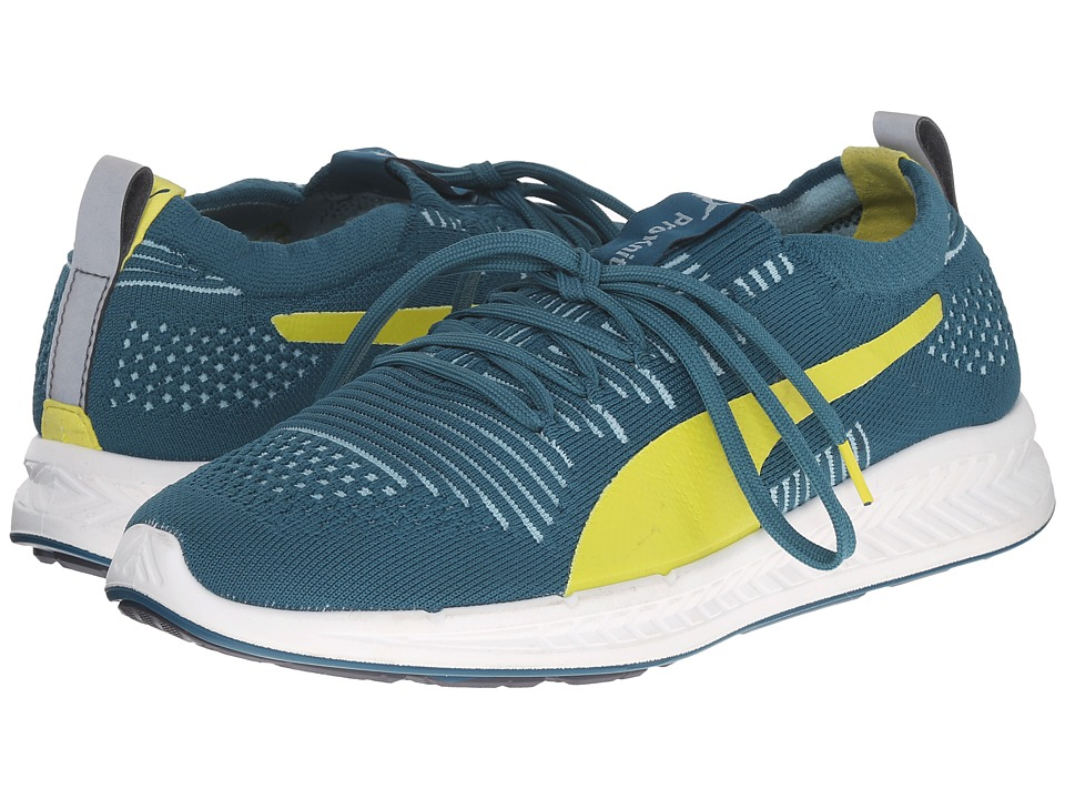 PUMA - Ignite ProKnit (Blue Coral/Sulphur Spring) Women's Running Shoes