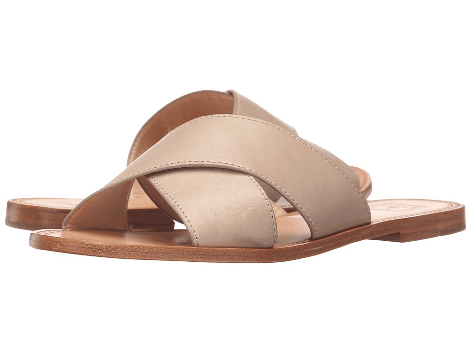 Frye - Ruth Criss Cross (Cement Smooth Full Grain) Women's Sandals