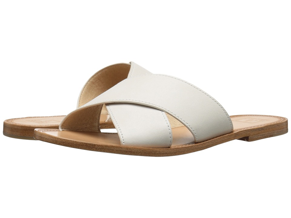 Frye - Ruth Criss Cross (White Smooth Full Grain) Women's Sandals