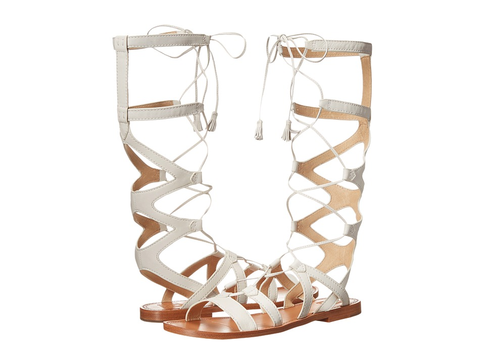 Frye - Ruth Gladiator Tall Sandal (White Soft Full Grain) Women's Sandals