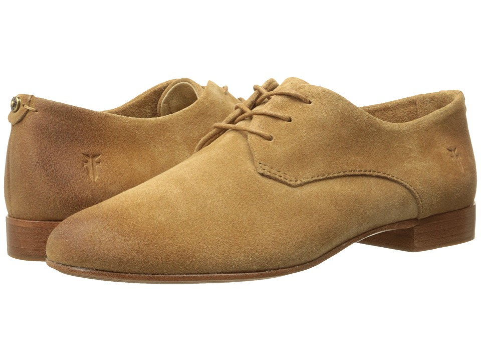 Frye - Tracy Oxford (Sand Oiled Suede) Women's Lace up casual Shoes