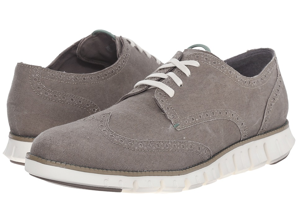 Cole Haan - ZeroGrand Deconstructed No-Stitch (Dune/Sea Otter Canvas) Men's Lace up casual Shoes