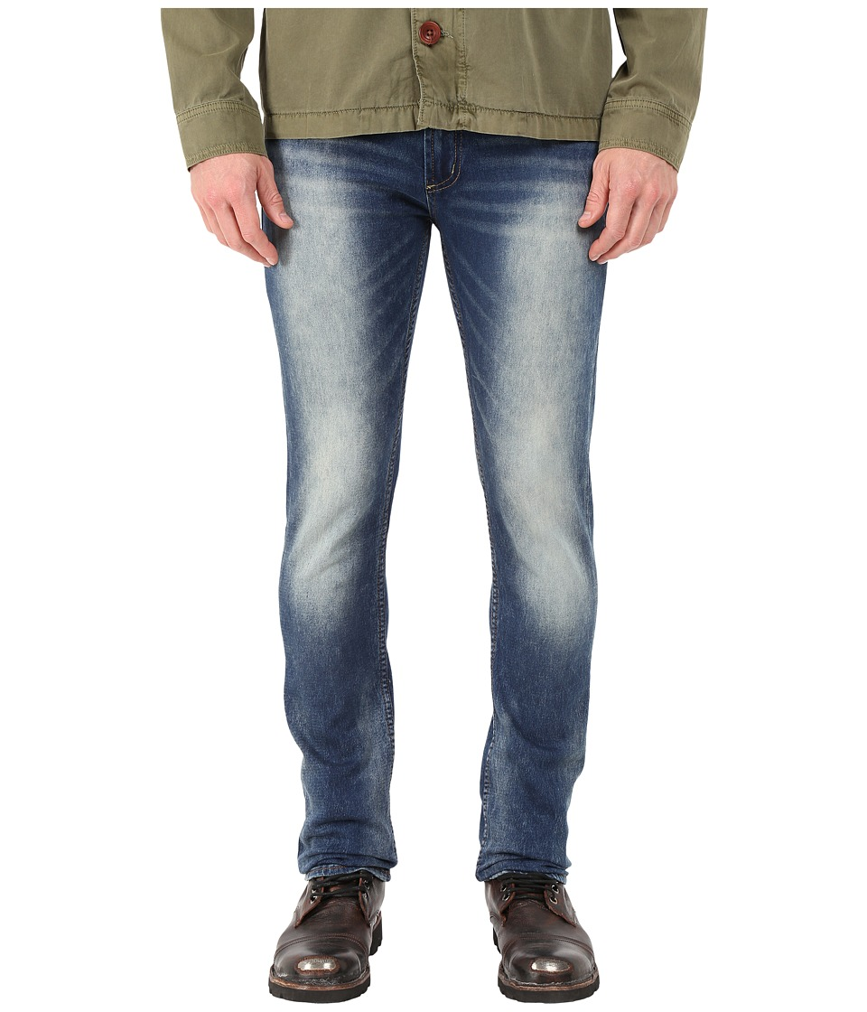 Buffalo David Bitton - Max-X Super Skinny Jeans in Sanded/Worked Fleece (Sanded/Worked Fleece) Men