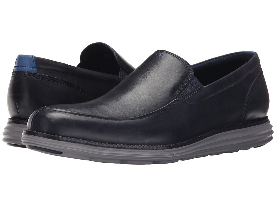 Cole Haan - Original Grand Venetian (Navy Ink) Men's Slip on Shoes