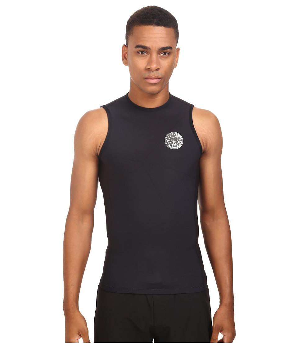 Rip Curl Aggrolite Vest (Black) Men