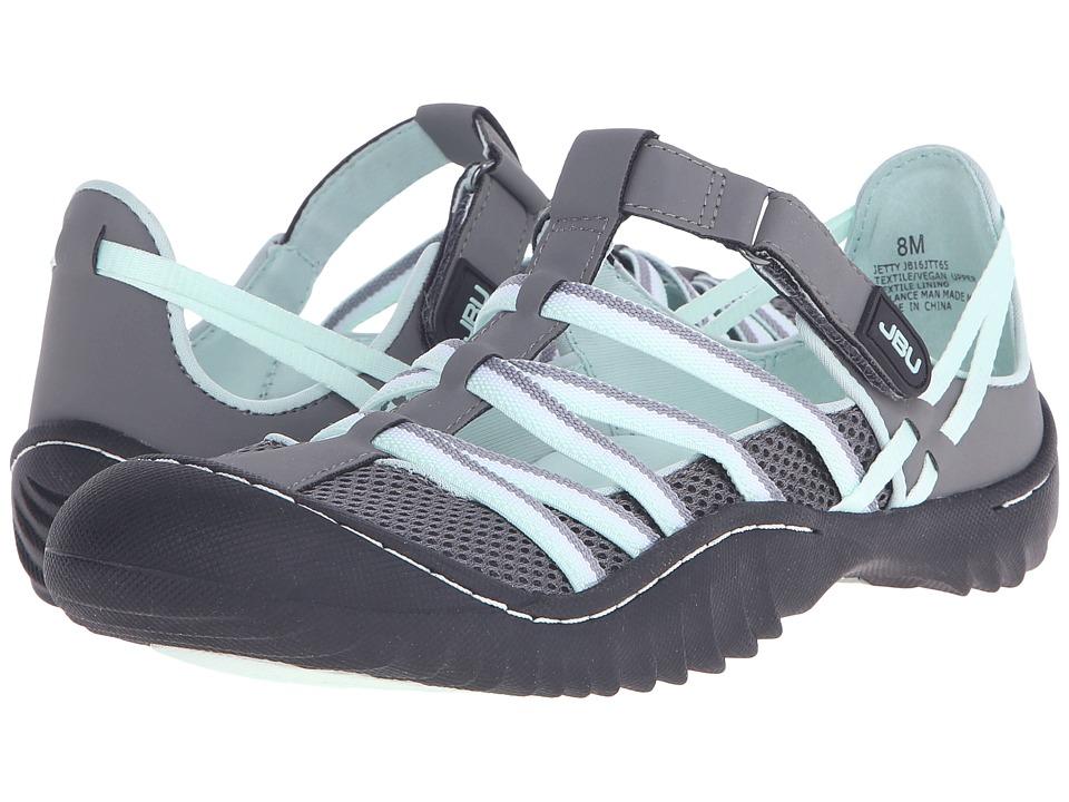 JBU - Jetty (Grey/Light Jade) Women's Slip on Shoes