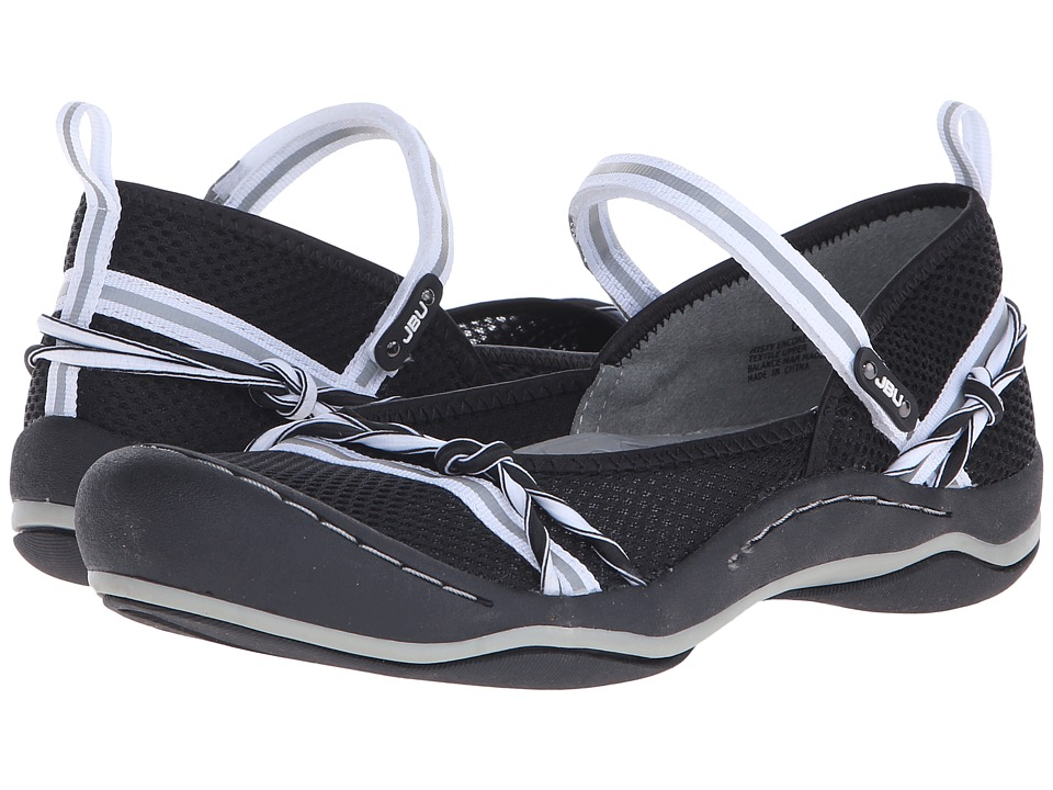 JBU - Misty Encore (Black/White) Women's Shoes