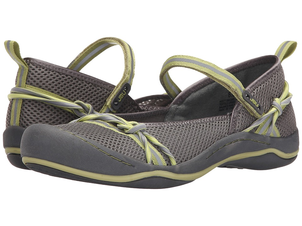 JBU - Misty Encore (Grey/Pistachio) Women's Shoes