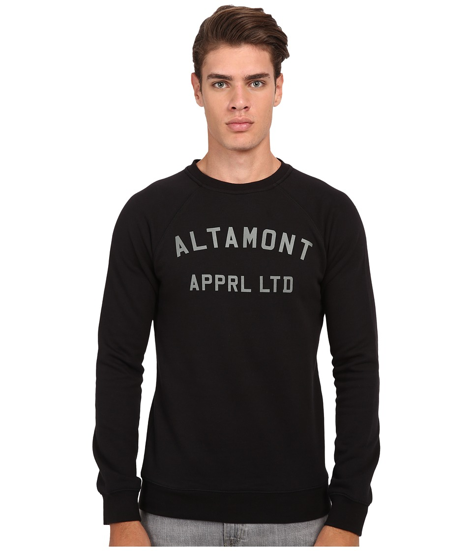 Altamont - Non Game Crew Fleece (Black) Men's Fleece