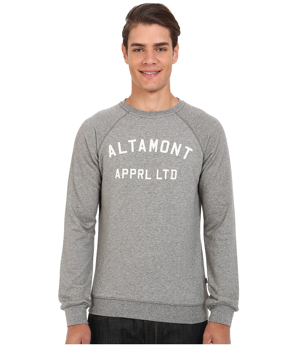 Altamont - Non Game Crew Fleece (Grey/Heather) Men's Fleece