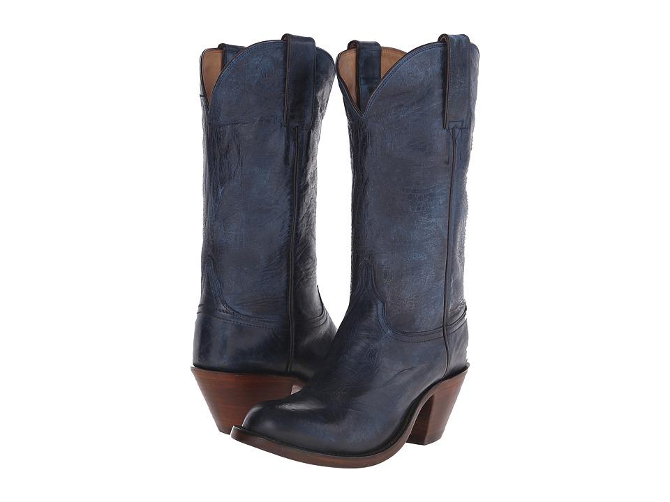 Lucchese - Britton (Ocean Blue) Cowboy Boots