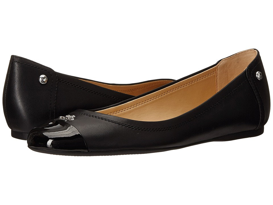 COACH Chelsea (Black/Black Matte Calf/Patent) Women