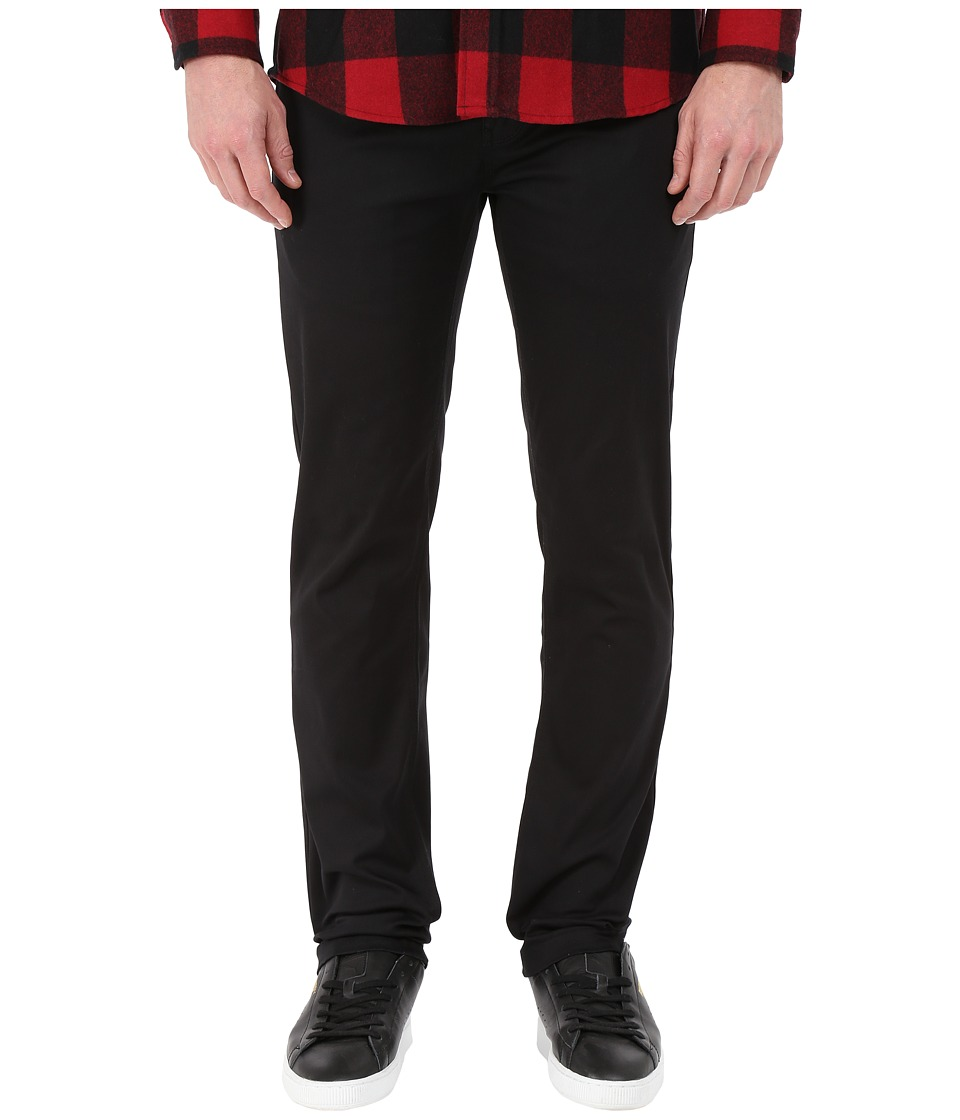 Image of Altamont - Davis Slim Chino (Black) Men's Casual Pants