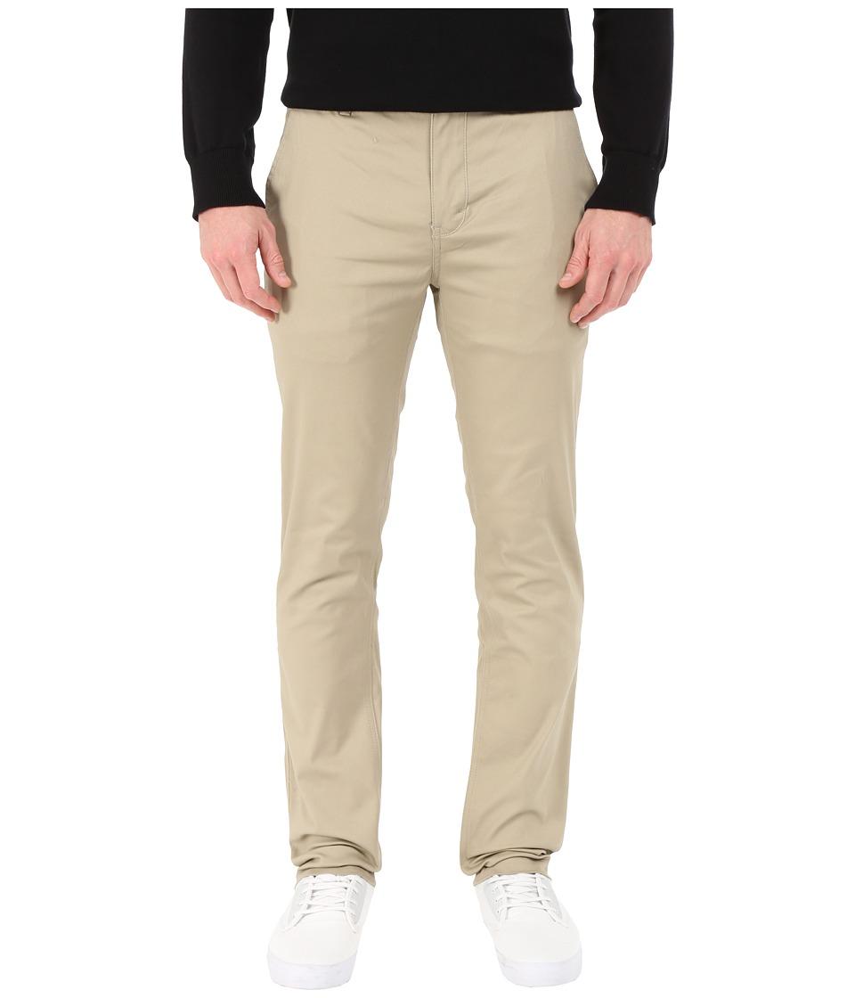 Image of Altamont - Davis Slim Chino (Khaki) Men's Casual Pants