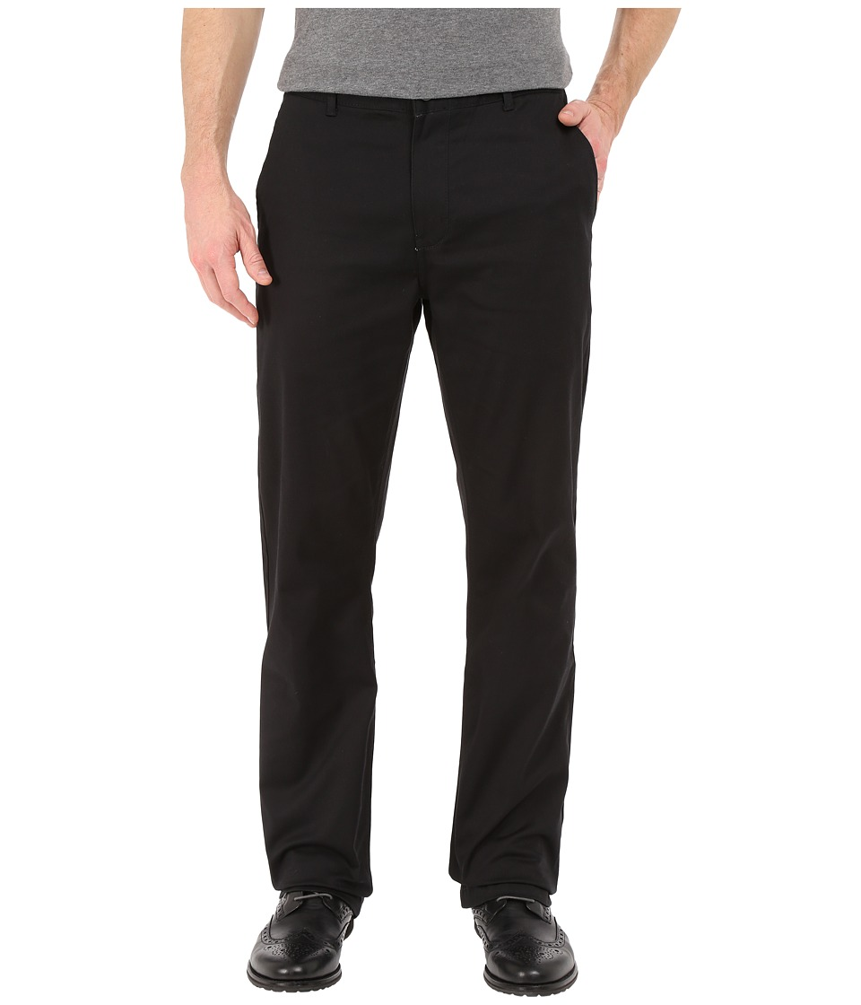 Image of Altamont - Davis Straight Chino (Black) Men's Casual Pants